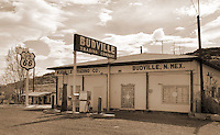 Budville Trading Company on Route 66 in New Mexico.