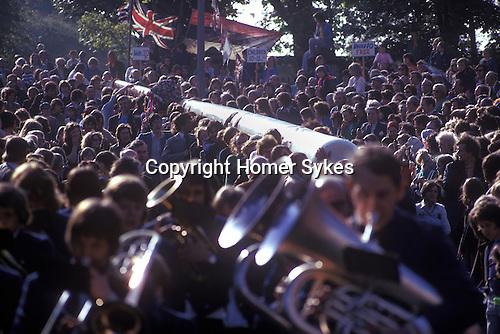 Maypole Barwick in Elmet, Yorkshire England 1975