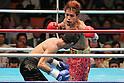 (R-L) Noriyuki Komatsu, Daisuke Naito (JPN), JUNE 27, 2006 - Boxing : Noriyuki Komatsu of Japan in action against Daisuke Naito of Japan during the OPBF and Japanese flyweight titles bout at Korakuen Hall in Tokyo, Japan. (Photo by Hiroaki Yamaguchi/AFLO)