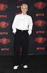 WESTWOOD, CA - OCTOBER 26: Actor Matthew Modine arrives at the Premiere Of Netflix's 'Stranger Things' Season 2 at Regency Westwood Village Theatre on October 26, 2017 in Los Angeles, California.