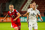 26.07.2017, Stadion Galgenwaard, Utrecht, NLD, Tilburg, UEFA Women's Euro 2017, Russland (RUS) vs Deutschland (GER), <br /> <br /> im Bild | picture shows<br /> Elena Morozova (Russland | Russia #23) mit Kristin Demann (Deutschland #6) | (Germany #6), <br /> <br /> Foto © nordphoto / Rauch