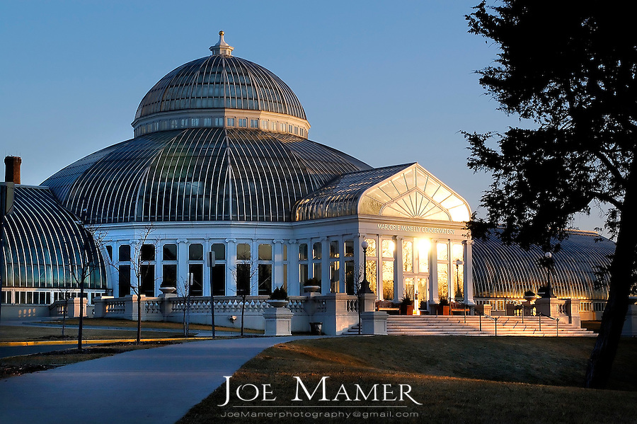 Marjorie McNeely Conservatory at Como Park, St. Paul, Minnesota