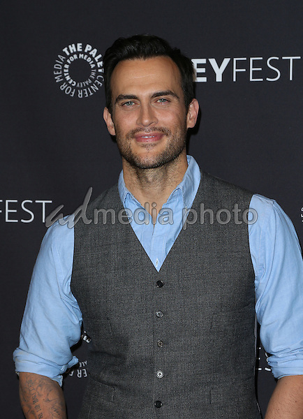 "20 March 2015 - Hollywood, Cheyenne Jackson. The Paley Center For Media's 33rd Annual PaleyFest Los Angeles - Closing Night Presentation: ""American Horror Story: Hotel"" Held at The Dolby Theatre. Photo Credit: F.Sadou/AdMedia"