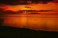 Mount Susitna (The Sleeping Lady), Cook Inlet, Anchorage, Alaska