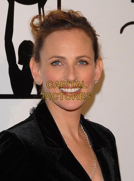 MARLEE MATLIN.Attends The Billies held at The Beverly Hilton Hotel in Beverly Hills, California on .April 11th, 2007.headshot portrait diamond earrings .CAP/DVS.©Debbie VanStory/Capital Pictures