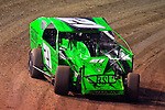 Feb 19, 2014; 6:41:10 PM;  Barberville, FL, USA;  Super DIRT car Series Big Block Modifieds presented by Summit Racing Equipment at Volusia Speedway Park.  Mandatory Credit: (thesportswire.net)