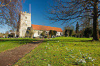 Holy Trinity Church, Cookham on Thames, Berkshire, Uk