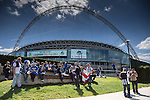 General view of Wembley Stadium before the 2015 Vanarama Conference Promotion Final match between Grimsby Town and Bristol Rovers at Wembley Stadium, London<br /> Picture by David Horn/eXtreme aperture photography +44 7545 970036<br /> 17/05/2015
