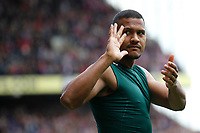 Salomon Rondon of West Brom waves goodbye during the EPL - Premier League match between Crystal Palace and West Bromwich Albion at Selhurst Park, London, England on 13 May 2018. Photo by Carlton Myrie / PRiME Media Images.
