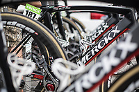 Eddy Merckx bikes of Team Sport Vlaanderen Baloise <br /> <br /> Binckbank Tour 2017 (UCI World Tour)<br /> Stage 7: Essen (BE) &gt; Geraardsbergen (BE) 191km