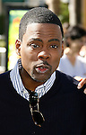 """WESTWOOD, CA. - October 26: Actor Chris Rock arrives at the premiere of Dreamworks' """"Madagascar: Escape 2 Africa"""" at the Mann Village Theater on October 26, 2008 in Los Angeles, California."""