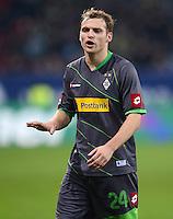 FUSSBALL   1. BUNDESLIGA  SAISON 2012/2013   13. Spieltag FC Augsburg - Borussia Moenchengladbach           25.11.2012 Tony Jantschke (Borussia Moenchengladbach)