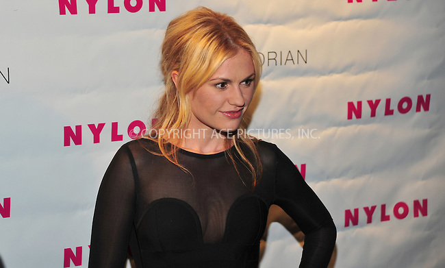 WWW.ACEPIXS.COM . . . . . ....August 24 2009, LA....Actress Anna Paquin at the NYLON TV issue launch party at Sky Bar at the Mondrian Hotel on August 24 2009 in West Hollywood, California.....Please byline: JOE WEST- ACEPIXS.COM.. . . . . . ..Ace Pictures, Inc:  ..(646) 769 0430..e-mail: info@acepixs.com..web: http://www.acepixs.com