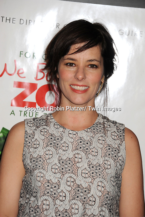 "Parker Posey in Rachel Comey lasce dress attends The New York Screening of ""We Bought A Zoo"" on December 12, 2011 at The Ziegfeld Theatre in New York City. The movie stars Matt Damon, Scarlett Johansson, Thomas Haden Church, Patrick Fugit, Colin Ford, Elle Fanning and John Michael Higgins."