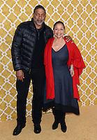 Debbie Allen + Norman Nixon @ the HBO premiere of 'Confirmation' held @ the Paramount Studios theatre.<br /> March 31, 2016