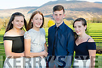 Rebecca McHugh, maggie Kingston, Jack hallissey and Hannah Hallissey Beaufort at the Beaufort Youth Club Ball in aid of the Donal Walsh foundation in the Dunloe Castle Hotel on Friday night