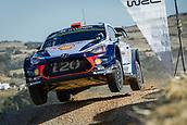 8th June 2017, Alghero, West Coast of Sardinia, Italy; WRC Rally of Sardina;  Sordo