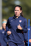 14 October 2014: Lauren Holiday. The United States Women's National Team held a training session on the stadium field at Swope Park Soccer Village in Kansas City, Missouri in preparation for the CONCACAF Women's World Cup Qualifying Tournament for the 2015 Women's World Cup in Canada.