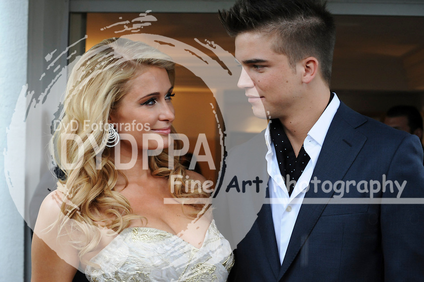 Paris Hilton, River Viiperi. 2013/05/21. Celebrities at the Cannes Film Festival 2013. Photo by Pix Planet/Unimedia/DyD Fotografos
