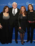 "Kathy Najimy, Phil Donahue, Marlo Thomas and Gloria Steinem attends the Opening Night Performance of ""Gloria: A Life"" on October 18, 2018 at the Daryl Roth Theatre in New York City."