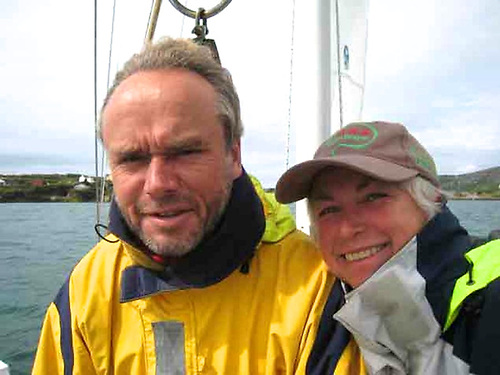 Alex and Daria Blackwell of the Ocean Cruising Club