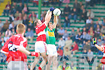 COUNTY SENIOR FOOTBALL CHAMPIONSHIP ROUND 1.DINGLE 1-12 JOHN MITCHELS 1-9.Their margin of victory may have only.been three points but there was no doubting.who were the superior side in this.first round AIB Senior County Championship.clash at Austin Stack Park on.Sunday. Dingle dominated this game from.start to finish save for a brief period prior.to half time when