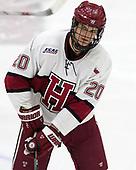 Adam Baughman (Harvard - 20) - The visiting Colgate University Raiders shut out the Harvard University Crimson for a 2-0 win on Saturday, January 27, 2018, at Bright-Landry Hockey Center in Boston, Massachusetts.