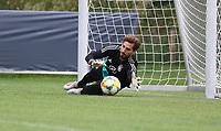 Torwart Kevin Trapp (Deutschland Germany) - 04.06.2019: Training der Deutschen Nationalmannschaft zur EM-Qualifikation in Venlo/NL