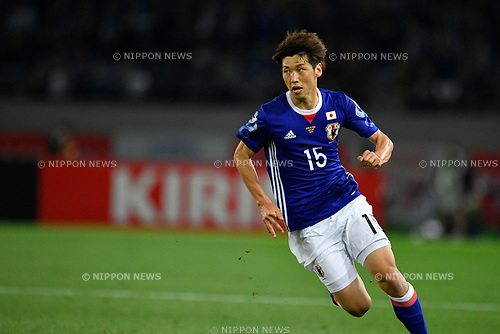 Yuya Osako (JPN), <br /> JUNE 7, 2017 - Football / Soccer : <br /> KIRIN Challenge Cup 2017 match <br /> between Japan 1-1 Syria <br /> at Ajinomoto Stadium in Tokyo, Japan. <br /> (Photo by AFLO)