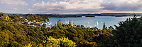 Bay of Islands seen from Russell, Northland Region, North Island, New Zealand