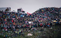 (as usual) Huge crowds up the infamous Monte Zoncolan (1735m/11%/10km)<br /> <br /> stage 14 San Vito al Tagliamento &ndash; Monte Zoncolan (186 km)<br /> 101th Giro d'Italia 2018