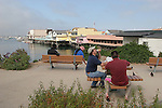 Picnicing in Monterey near Fishermen's Wharf