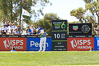 Wade Ormsby (AUS) in action on the 10th during Round 1 of the ISPS Handa World Super 6 Perth at Lake Karrinyup Country Club on the Thursday 8th February 2018.<br /> Picture:  Thos Caffrey / www.golffile.ie<br /> <br /> All photo usage must carry mandatory copyright credit (&copy; Golffile | Thos Caffrey)