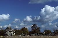 Europe/France/Midi-Pyrénées/46/Lot/Parc Naturel Régional des Causses du Quercy/Causse de Livernon/Env Livernon: Gariotte (ou Borie ou Cazelle)
