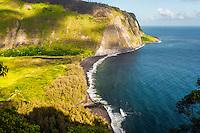 View of Waipi'o Valley, Big Island.