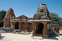 Sas Bahu Tempel, Nagada bei Udaipur (Rajasthan), Indien