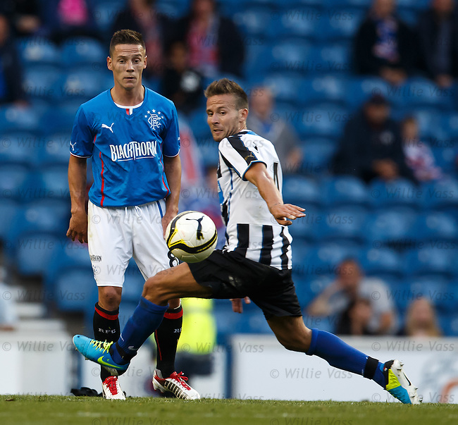 Ian Black and Yohan Cabaye