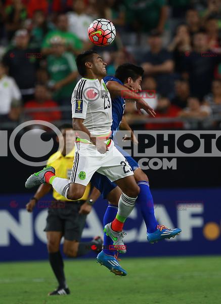 Jose Juan Vazquez  de Mexico  ,durante partido entre las selecciones de Mexico y Guatemala  de la Copa Oro CONCACAF 2015. Estadio de la Universidad de Arizona.<br /> Phoenix Arizona a 12 de Julio 2015.