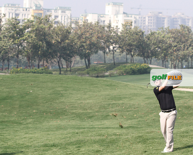 Bernd Weisberger (AUT) on the 9th during Round 3 of the 2013 Avantha Masters, Jaypee Greens Golf Club, Greater Noida, Delhi, 16/3/13..(Photo Jenny Matthews/www.golffile.ie)