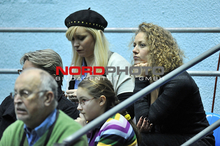 05.03.2011., Zagreb, Croatia - ITF Davis Cup, first round, Croatia - Germany, couples, Ivan Dodig and Ivo Karlovic against Christpher Kas and Philipp Petzschner. Marija Boric<br />                                                                                                    Foto &copy;  nph / PIXSELL