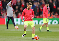 Barcelona's Ivan Rakitic during the pre-match warm-up <br /> <br /> Photographer Rich Linley/CameraSport<br /> <br /> UEFA Champions League Semi-Final 2nd Leg - Liverpool v Barcelona - Tuesday May 7th 2019 - Anfield - Liverpool<br />  <br /> World Copyright © 2018 CameraSport. All rights reserved. 43 Linden Ave. Countesthorpe. Leicester. England. LE8 5PG - Tel: +44 (0) 116 277 4147 - admin@camerasport.com - www.camerasport.com