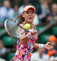 AGNIESZKA RADWANSKA (POL)<br /> <br /> Tennis - French Open 2014 -  Toland Garros - Paris -  ATP-WTA - ITF - 2014  - France -  25 May 2014. <br /> <br /> &copy; AMN IMAGES