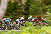 25th March 2018, Barcelona, Spain; Volta a Catalunya 2018 Cycling, Stage 7; The peloton during the stage 7 of la Volta Catalunya
