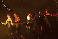 BROOKLYN, NY - NOV 30: The cast of Snow White performed by Company XIV performs a dress rehearsal of their productiuon at the 303 Bond Street Theater in Brooklyn, NY, on November 30, 2011. (Photo by Landon Nordeman)