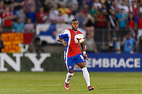 Costa Rica midfielder Kenny Cunningham (8). The United States defeated Costa Rica 1-0 during a CONCACAF Gold Cup group B match at Rentschler Field in East Hartford, CT, on July 16, 2013.