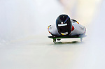 18 November 2005: Diana Sartor of Germany slides down the track to take 5th place at the 2005 FIBT World Cup Women's Skeleton competition at the Verizon Sports Complex, in Lake Placid, NY. Mandatory Photo Credit: Ed Wolfstein.