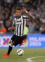 Calcio, finale Tim Cup: Juventus vs Lazio. Roma, stadio Olimpico, 20 maggio 2015.<br /> Juventus' Roberto Pereyra in action during the Italian Cup final football match between Juventus and Lazio at Rome's Olympic stadium, 20 May 2015.<br /> UPDATE IMAGES PRESS/Isabella Bonotto