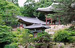 Juhamnu Pavilion at Changdeokgung Palace in Seoul, Korea.