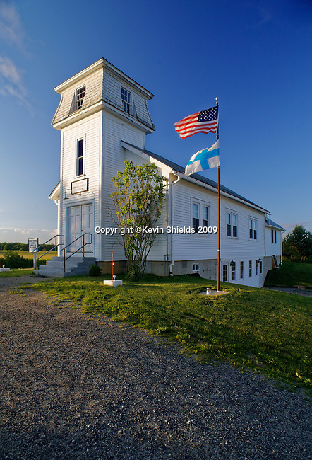 Finnish Congregational Church in  South Thomaston, Knox County, Maine, USA