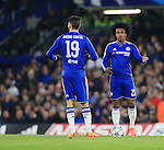 Chelsea's Willian looks on dejected after going 1-0 down<br /> <br /> - UEFA Champions League - Chelsea vs Paris Saint Germain - Stamford Bridge - London - England - 9th March 2016 - Pic David Klein/Sportimage